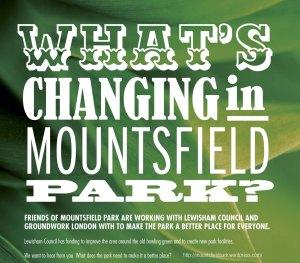 Friends of Mountsfield Park