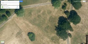 Mountsfield Park mysterious circles Google
