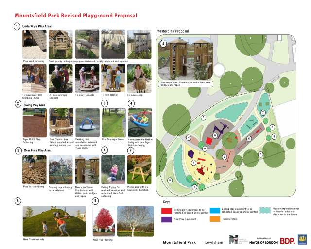 140815_Mountsfield Park Revised Playground Proposal