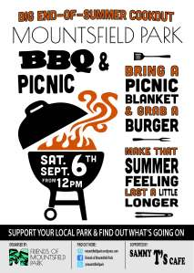 Mountsfield Park BBQ and Picnic