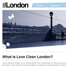Love London clean streets app