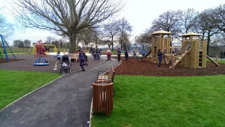 Mountsfield play area 1