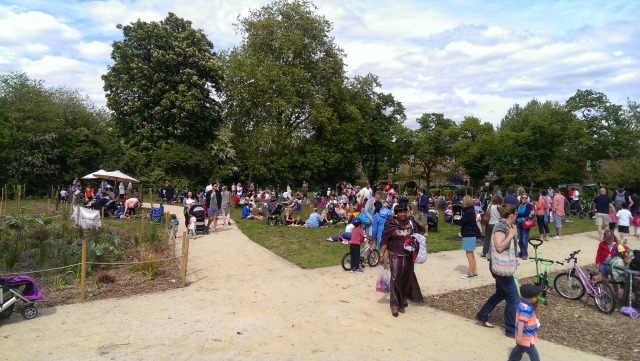 Teddy Bears Picnic at Mountsfield Park