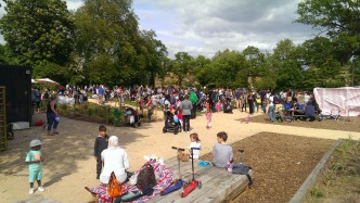 Teddy Bears Picnic at Mountsfield Park Community Garden