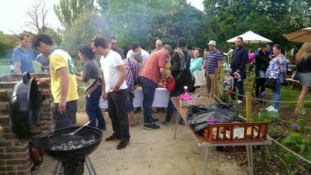 BBQ at Mountsfield Park Community Garden