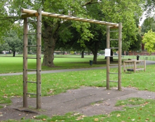 Trim trail for Mountsfield Park