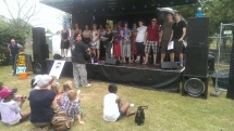 Felix School of Rock choir at Lewisham Peoples Day