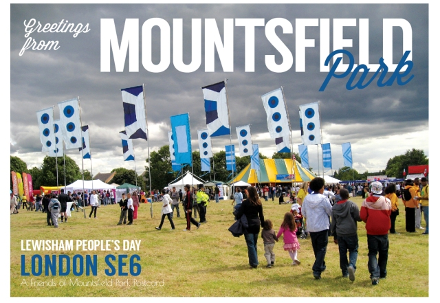 Friends of Mountsfield Park at Lewisham Peoples Day 2015