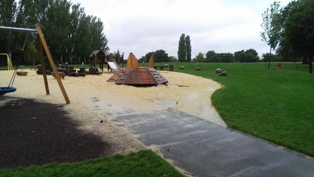 Mountsfield Play area 31 August 2015