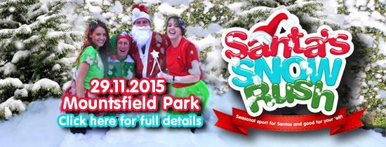Santas snow rush Mountsfield