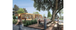 MOUNTSFIELD PARK CAFE PROPOSAL BY OFFICE TWENTY FIVE ARCHITECTS