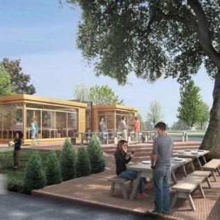 MOUNTSFIELD PARK CAFE PROPOSAL BY OFFICE TWENTY FIVE ARCHITECTS