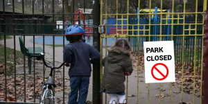 UK public parks closed